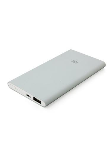 5000 mAh Taşınabilir Şarj Cihazı Gri (İnce ve Hafif Kasa)-Xiaomi